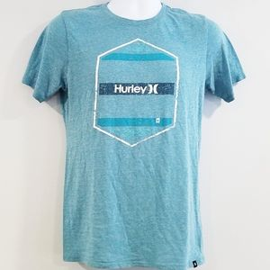 Hurley Men's Small Short Sleeved Graphic Tee